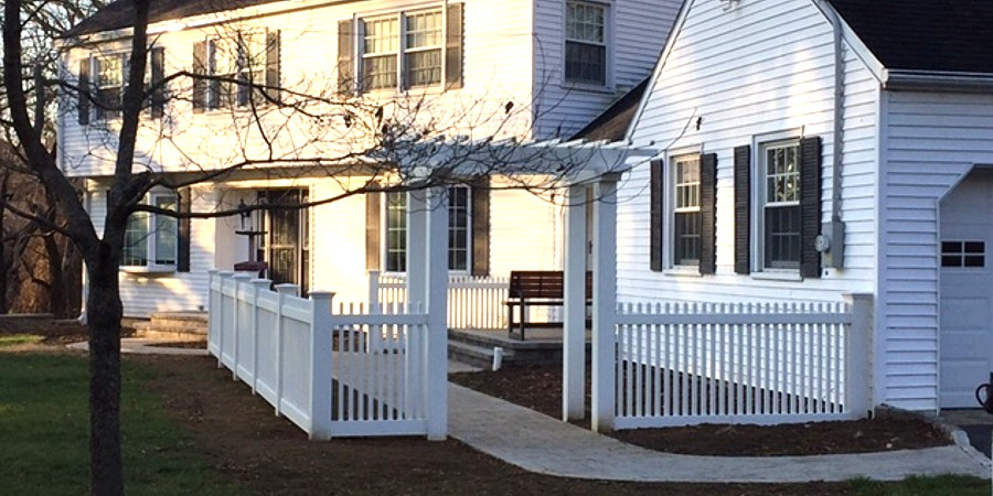Square Picket Fence