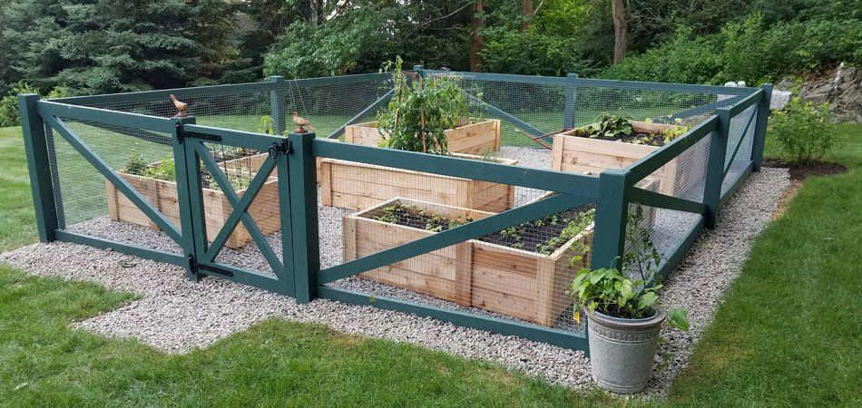 Meg's Garden Fence