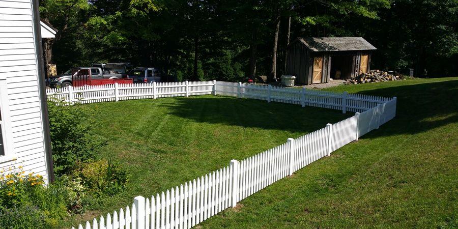 New England Narrow Picket Fence
