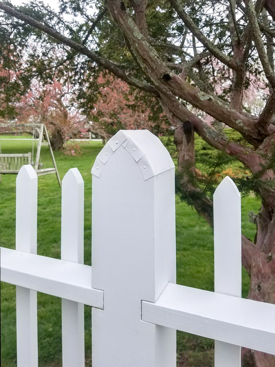 Reproduction Picket Fence