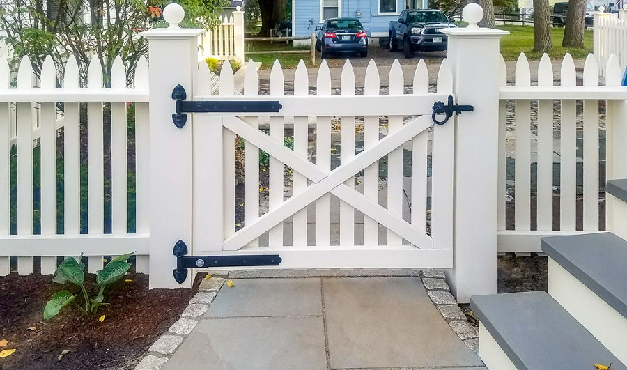 Historic Picket Fence Reproduction