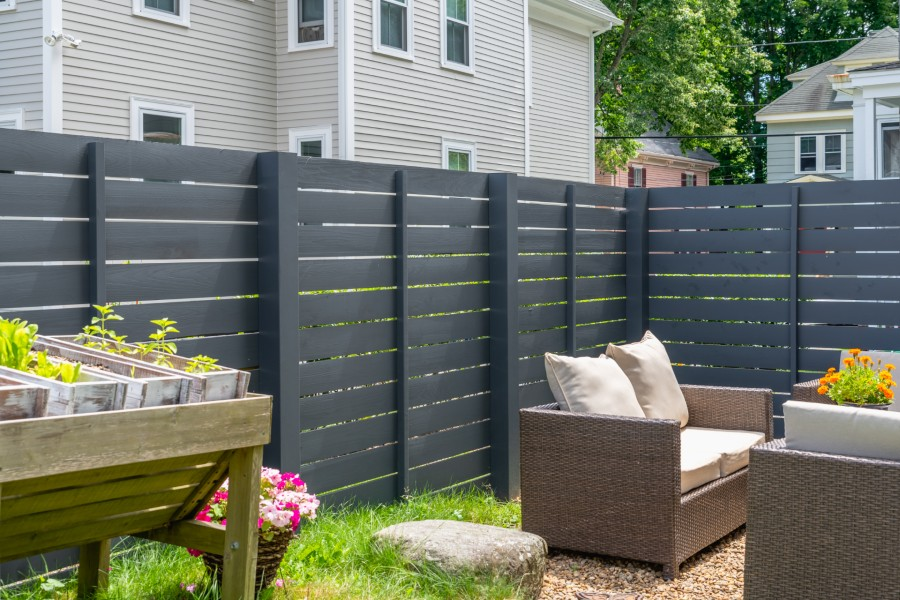 Contemporary Fence