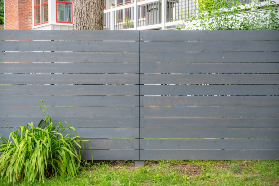 Contemporary Fence